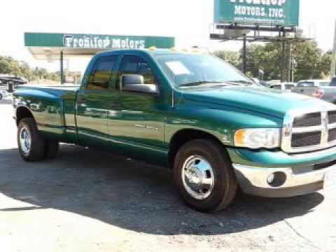 2003 dodge ram 3500 pensacola fl youtube for Frontier motors inc pensacola fl