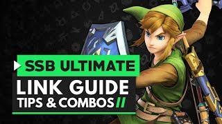 Super Smash Bros Ultimate | Link Guide - Tips & Combos