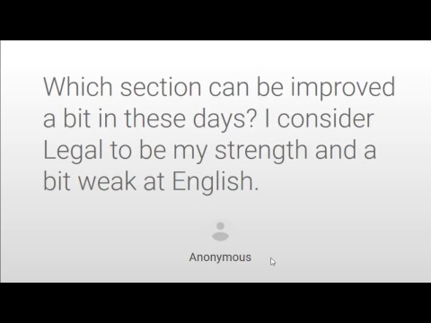 AILET 2018 Discussion and 1 Week to CLAT 2018 | Live Session for Law Aspirants