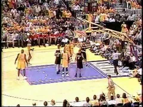 2000 Blazers Lakers Game 7 (Part 2) - YouTube