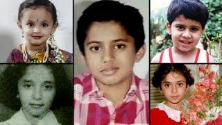 Childhood Pictures Of Marathi Actors | Childhood Throwback | Shashank Ketkar, Mukta Barve