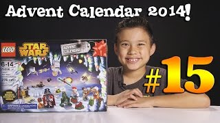 2014 LEGO STAR WARS Advent Calendar DAY 15 - Set 75056 + Question of the Day!