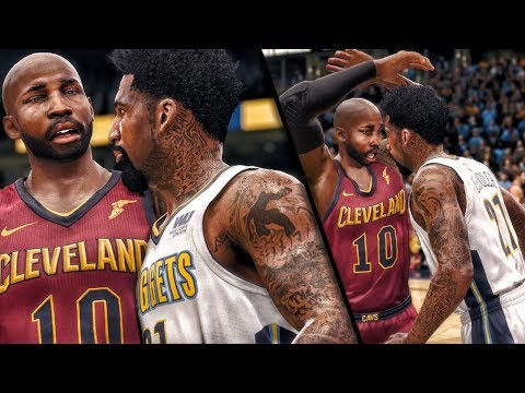 CHANDLER TRIES TO FIGHT BRIDGES AFTER HARD FOUL! NBA Live 18 The One Career Gameplay
