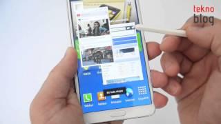 Samsung Galaxy Note 3 İncelemesi
