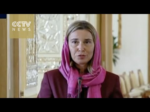 EU's top diplomat visits Tehran for nuclear deal talks