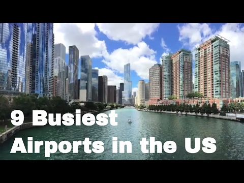 LIST: 9 Busiest Airports in the US by Passenger Traffic
