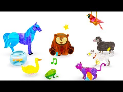 Eric Carle's Brown Bear Animal Parade by StoryToys – Best Apps Kids Love
