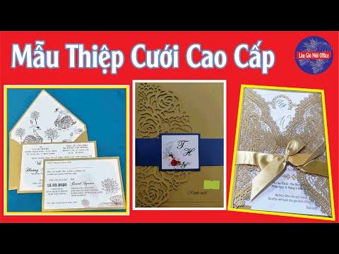 Review 1000 Mẫu Thiệp Cưới Đẹp Nhất/1000 Most Beautiful Wedding Card Templates/Làn Gió Mới #3