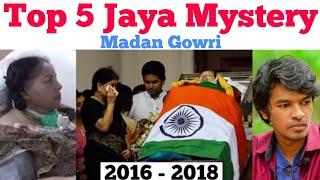 Top 5 Jayalalithaa Death Mysteries | Tamil | Madan Gowri | MG