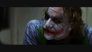 The Dark Knight - The Joker - Prison Scene