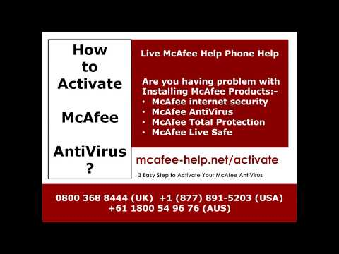 How To Get Activate McAfee AntiVirus? Call US Toll-Free Numbers | Help For McAfee AntiVirus