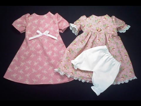 The 18 Inch Doll (Part I) Everyday & Aline Dresses