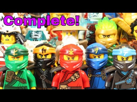 LEGO Ninjago COMPLETE Season 11 Minifigure Collection!