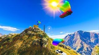 Into The WILD Stunt Race - GTA V Online Funny Moments   JeromeACE