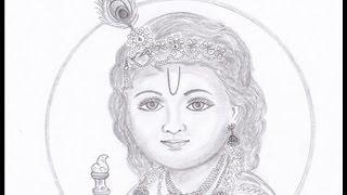 Drawing Krishna