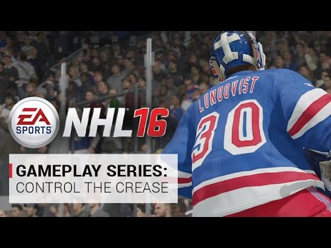 NHL 16 | Gameplay Series: Control The Crease | Xbox One, PS4