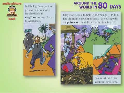 Learn English Through comics Around The World in 80 Days Level 0