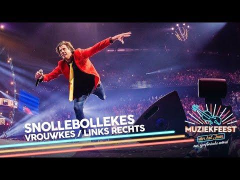 Snollebollekes - Vrouwkes & Links Rechts | Muziekfeest van het Jaar 2018