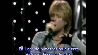 Bon Jovi Why arent you dead? subtitulado español
