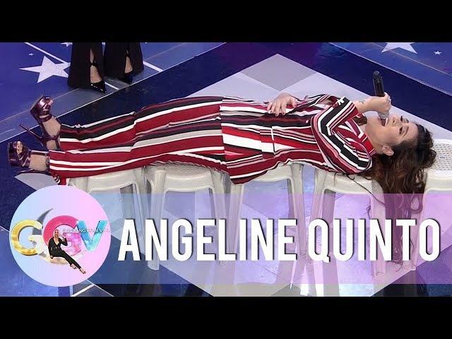 Vice Ganda dares Angeline to do the 'Birit Challenge' | GGV