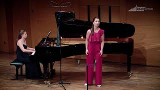J. Sibelius - Vårtagen (Céline Akçağ, mezzosoprano & Rebeka Stojkoska, piano)