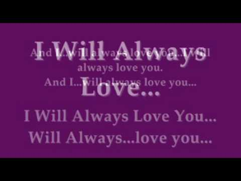 Houston love download song you i will whitney always