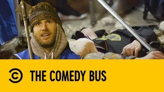 Going To A Fancy Dress Party In A Cave | Deleted Scene | The Comedy Bus