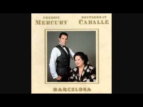 Freddie Mercury and Mtserrat Caballe  Barcela  Barcela  LYRICS 1988 HQ