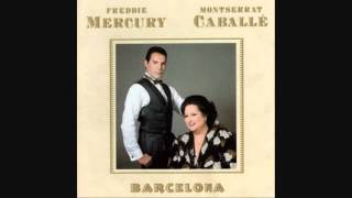Freddie Mercury and Montserrat Caballe - Barcelona - Barcelona - LYRICS (1988) HQ