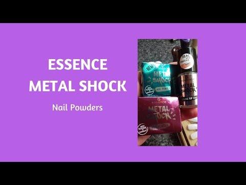 Essence METAL SHOCK Nail Powders- How do they work?