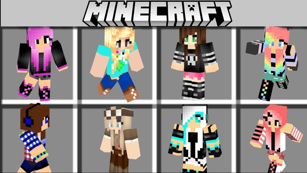 NEW GIRL MOD in MINECRAFT ! OTHER GIRLFRIEND Noob vs Pro Animation 100% trolling