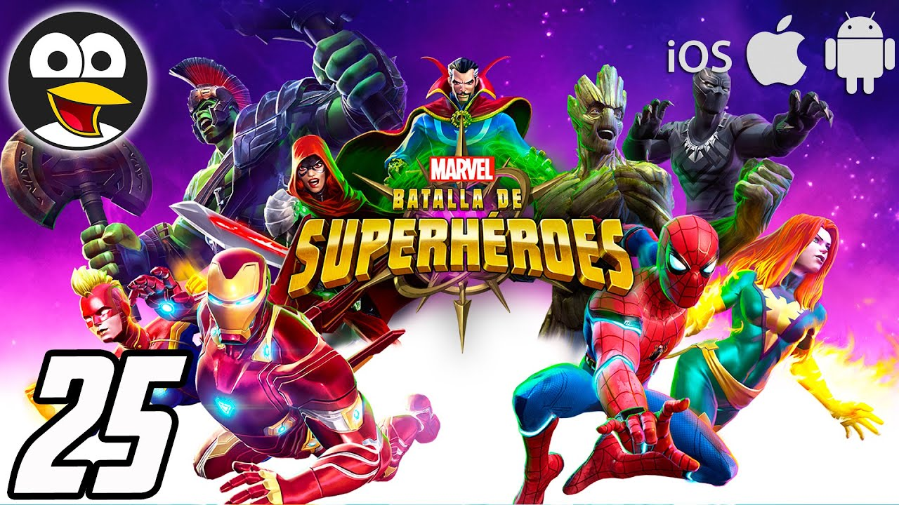 THOR, IRON MAN Y CAPITANA MARVEL - Vídeos de Juegos de Super Heroes - Marvel Batallas de Superhéroes