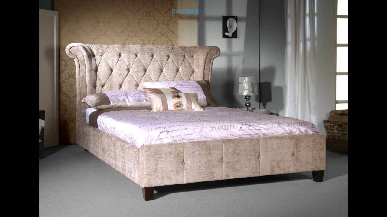 limelight epsilon mink upholstered bed frame - Upholstered Bed Frame
