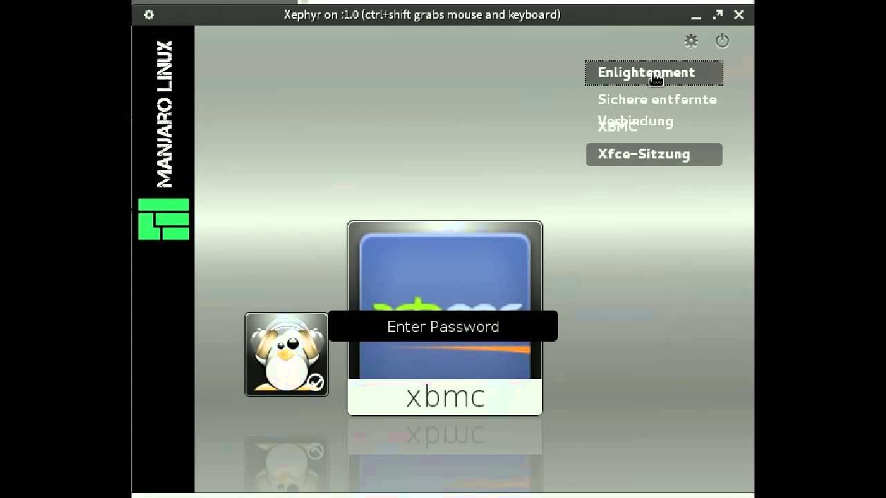 Manjaro Webkit Login Manager 0 8 5