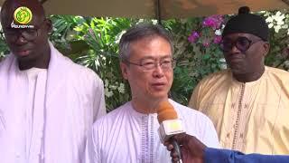 L'ambassadeur du Japon S.E.M Tatsuo ARAI reçu par Serigne Atou Diagne Resp. Moral Hizbut-Tarqiyyah