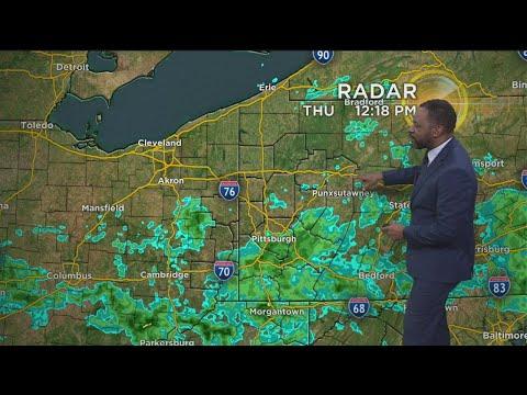 KDKA-TV Afternoon Forecast (4/25)