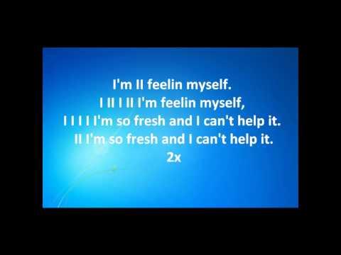 Nipsey Hussle (Feat. Lloyd) - Feelin' Myself [Lyrics on Screen] M'Fox
