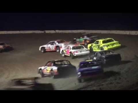 IMCA Stock Car feature Stuart International Speedway 6/26/16