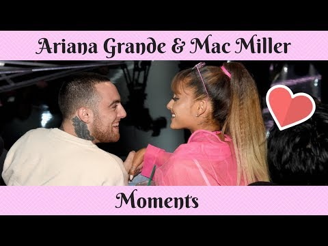 Ariana Grande & Mac Miller moments #1