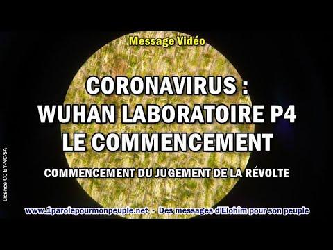 CORONAVIRUS: WUHAN LABORATOIRE P4 LE COMMENCEMENT – Message chrétien