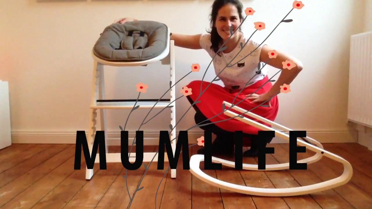 Kidsmill Hochstuhl Zubehör ~ Kidsmill up hochstuhl und wippe im test youtube