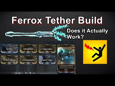 Ferrox Tether Build - It's Actually Pretty Fun And Useful! (Warframe) thumbnail