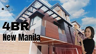 [New Manila] Exceptional Ultramodern New Manila House and lot for Sale