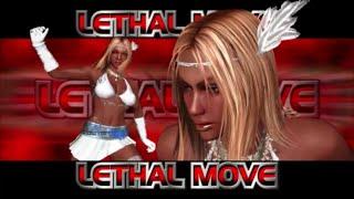 Rumble Roses XX  SS Aisha Lethal Move (Critical Kick  Rush)