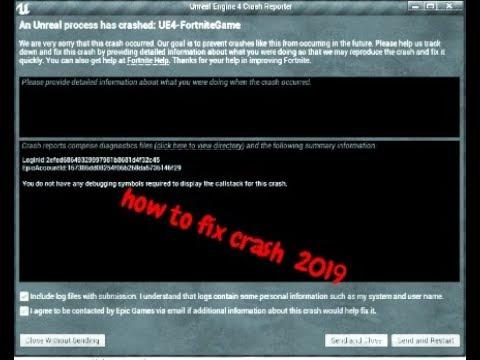 Fortnite Unreal Engine Crash Season 8 | Fortnite Cheat Generator