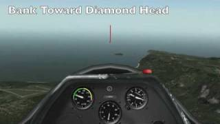 X-Plane Soaring - ASK-21 Glider - Dillingham Field on Oahu to Panda Airport on Molokai