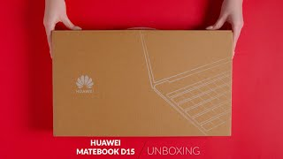Huawei MateBook D15 - unboxing - RTV EURO AGD