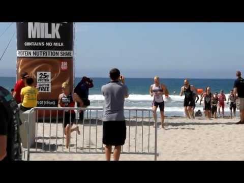 2012 San Diego F1 Triathlon - T1