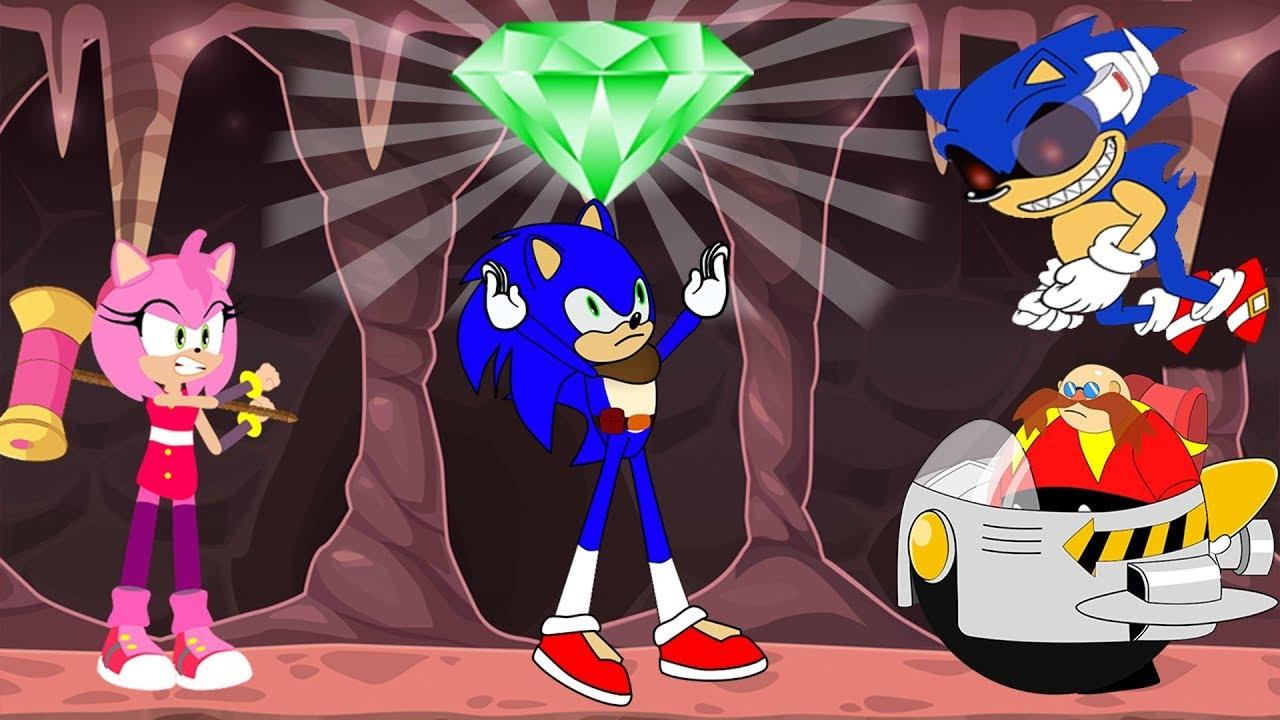 Sonic The Hedgehog 2020 Vs Sonic Exe Eggman Boss Amy Rose