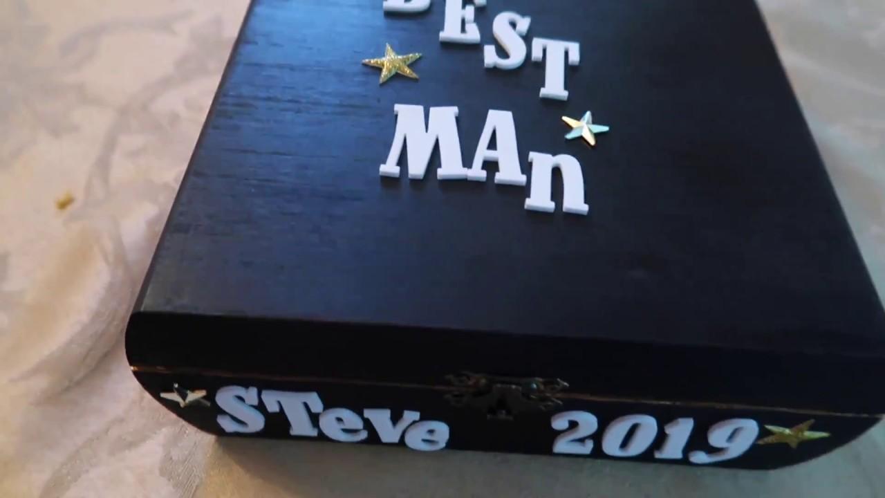 Diy Groomsmen Proposal Boxes